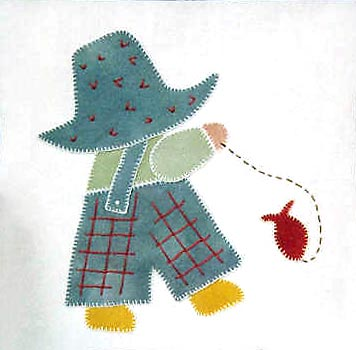 Free sewing applique patterns by Sunbonnet Sue and more
